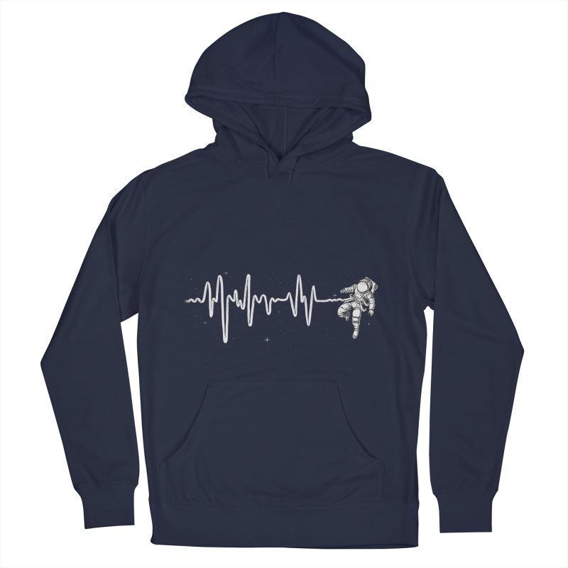 Space Heartbeat Men's Pullover Hoody by digital carbine