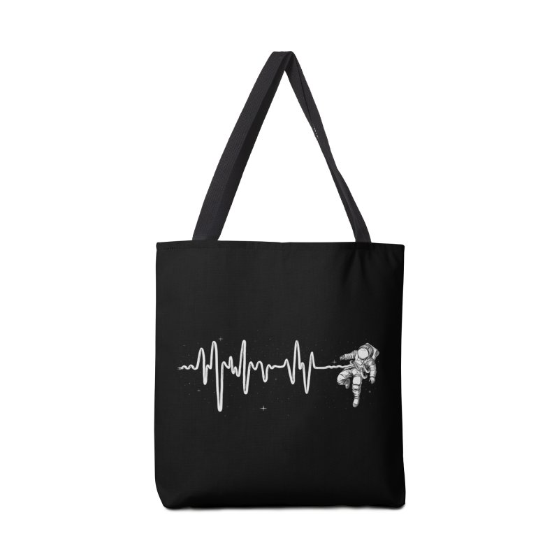 Space Heartbeat Accessories Tote Bag Bag by digital carbine