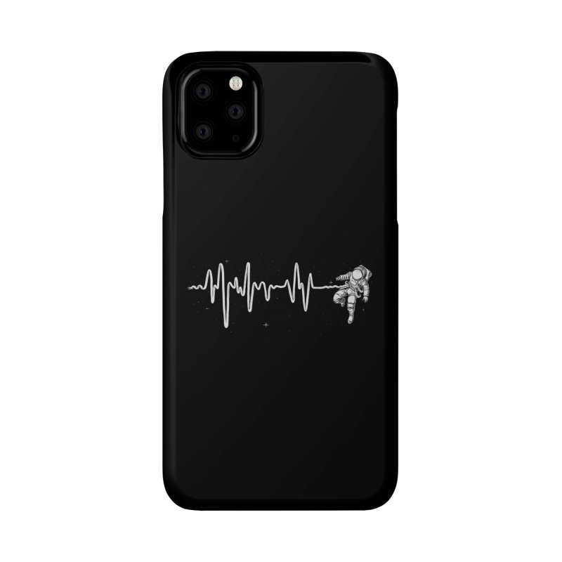Space Heartbeat Accessories Phone Case by digital carbine