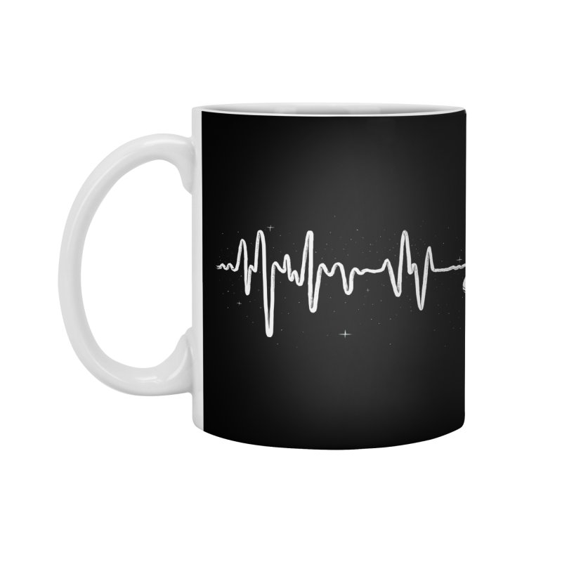Space Heartbeat Accessories Mug by digital carbine