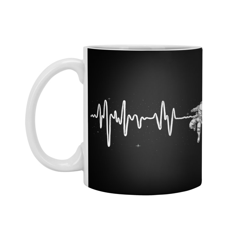 Space Heartbeat Accessories Standard Mug by digital carbine