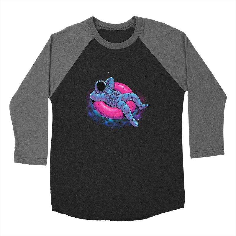 Floating Dream Men's Baseball Triblend Longsleeve T-Shirt by digital carbine