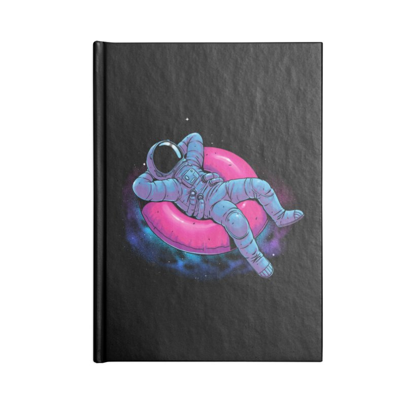 Floating Dream Accessories Blank Journal Notebook by digital carbine