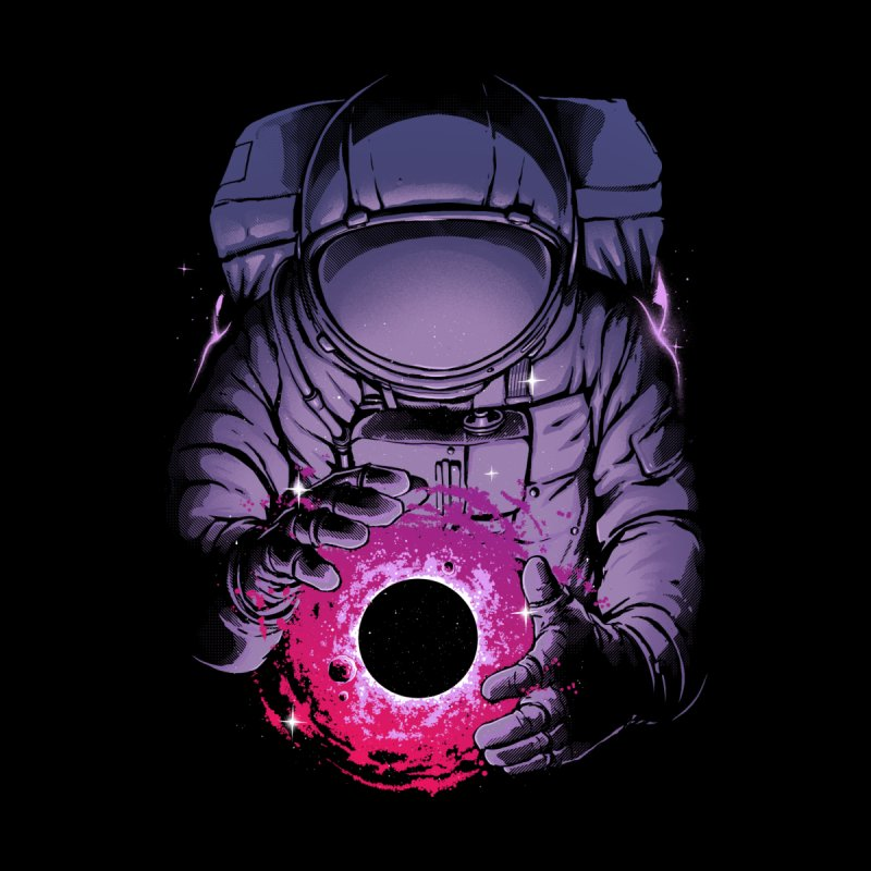 Deep Space Kids T-Shirt by digital carbine