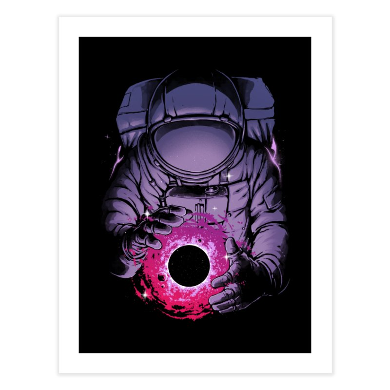 Deep Space Home Fine Art Print by digital carbine
