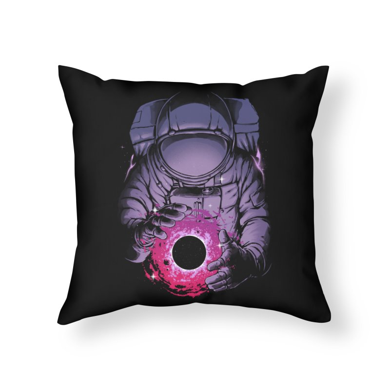 Deep Space Home Throw Pillow by digital carbine