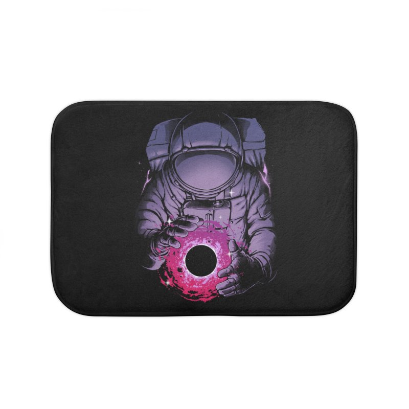 Deep Space Home Bath Mat by digital carbine