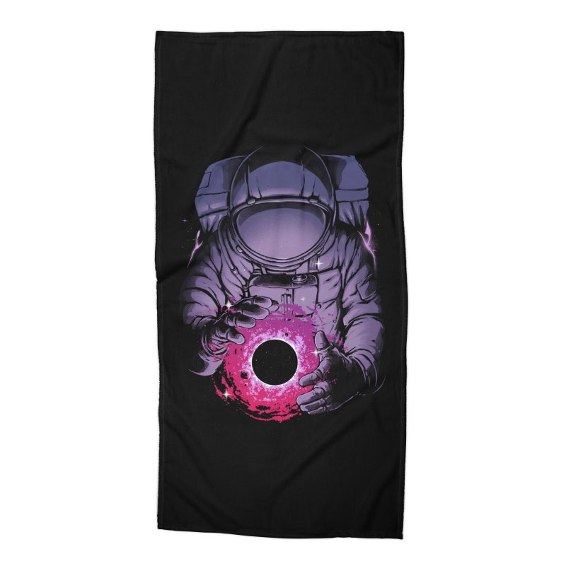 Deep Space Accessories Beach Towel by digital carbine