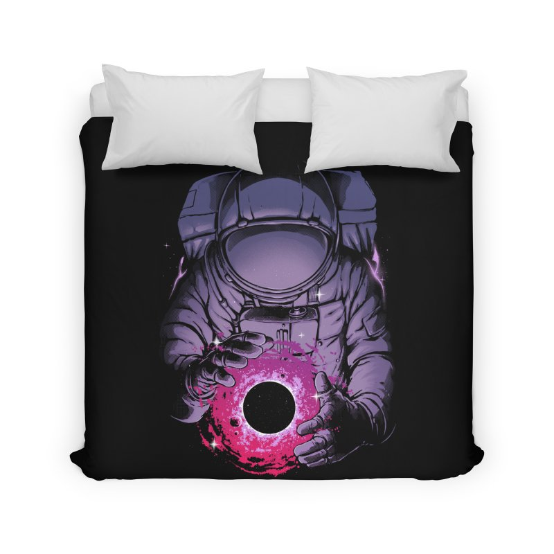 Deep Space Home Duvet by digital carbine