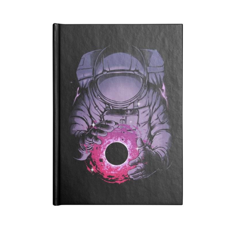 Deep Space Accessories Lined Journal Notebook by digital carbine