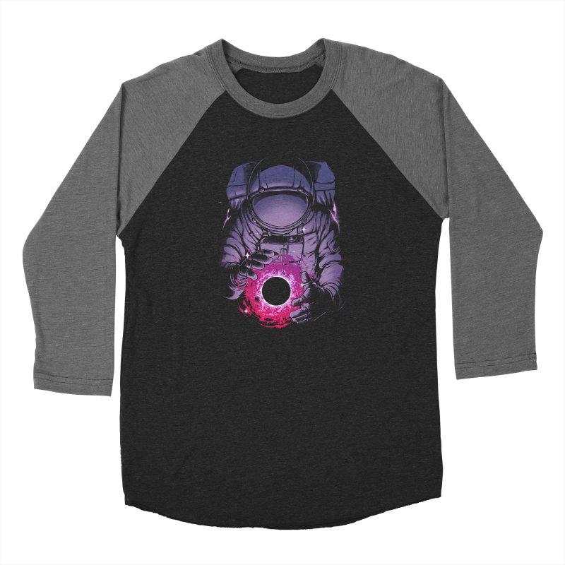 Deep Space Men's Baseball Triblend Longsleeve T-Shirt by digital carbine