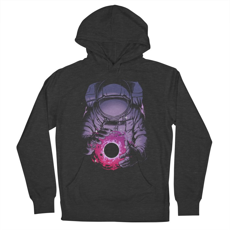 Deep Space Men's French Terry Pullover Hoody by digital carbine