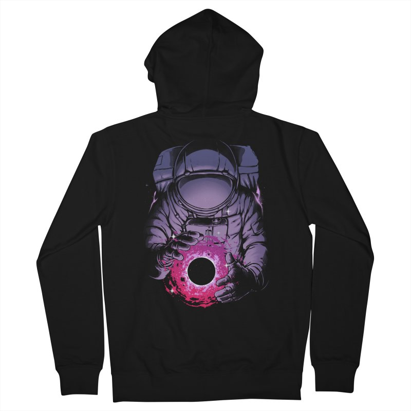 Deep Space Men's Zip-Up Hoody by digital carbine
