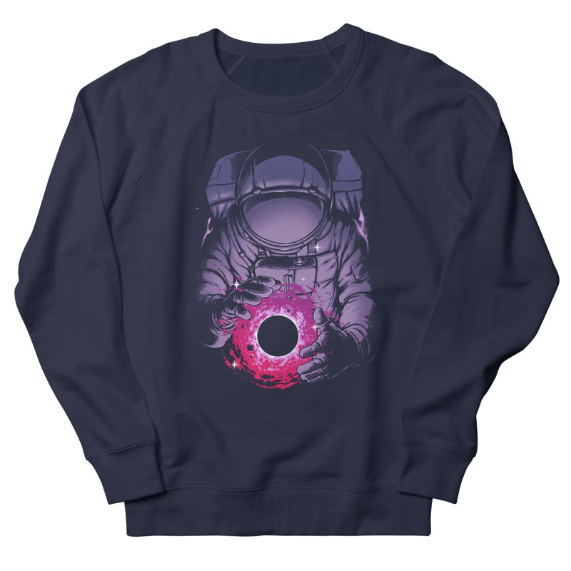 Deep Space Men's French Terry Sweatshirt by digital carbine