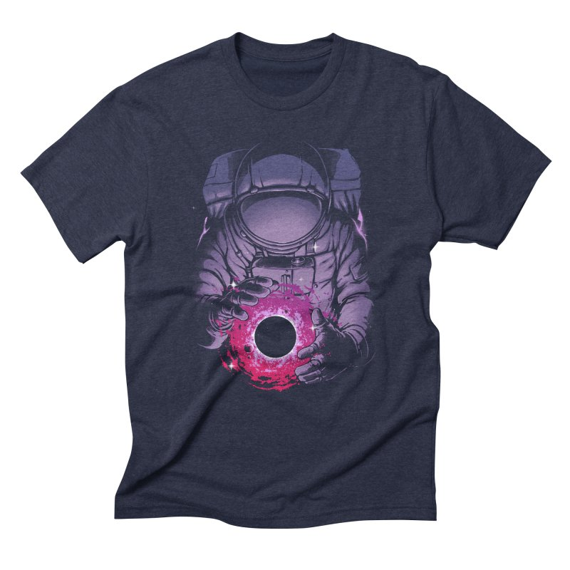 Deep Space Men's Triblend T-Shirt by digital carbine