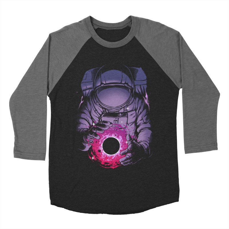 Deep Space Men's Baseball Triblend Longsleeve T-Shirt by digital carbine