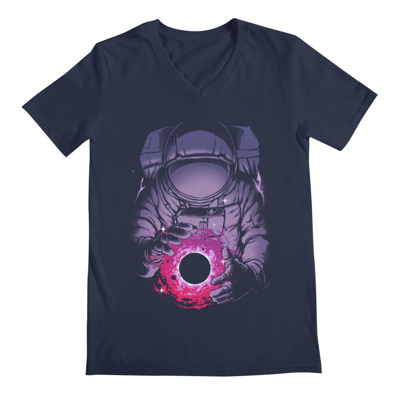 Deep Space Men's Regular V-Neck by digital carbine