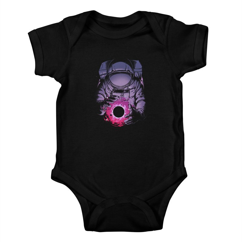 Deep Space Kids Baby Bodysuit by digital carbine