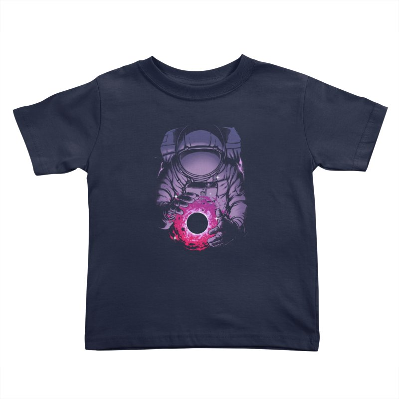 Deep Space Kids Toddler T-Shirt by digital carbine