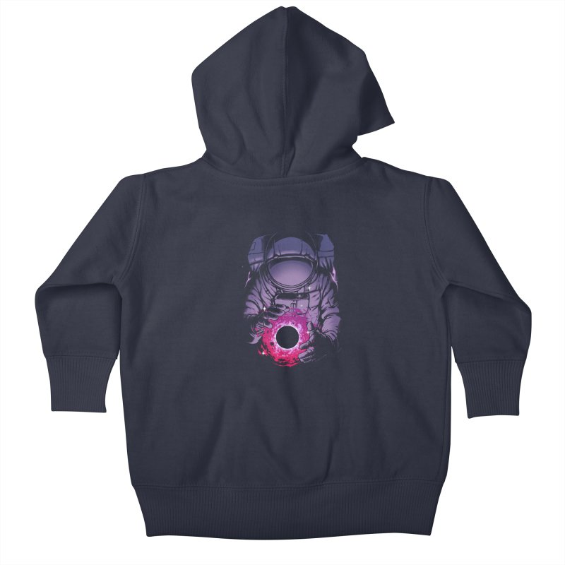 Deep Space Kids Baby Zip-Up Hoody by digital carbine