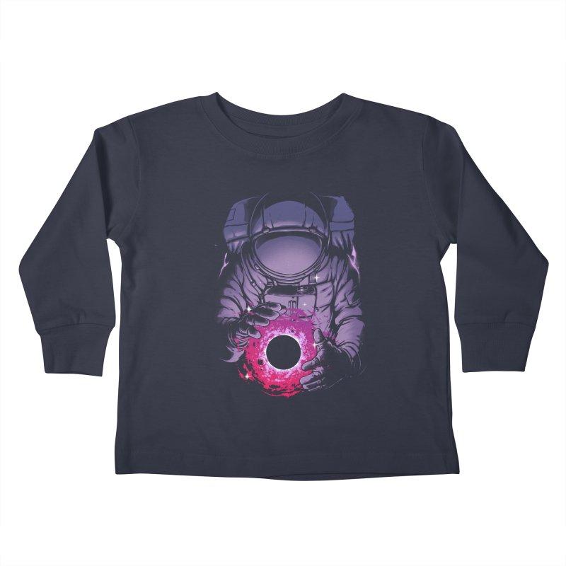 Deep Space Kids Toddler Longsleeve T-Shirt by digital carbine