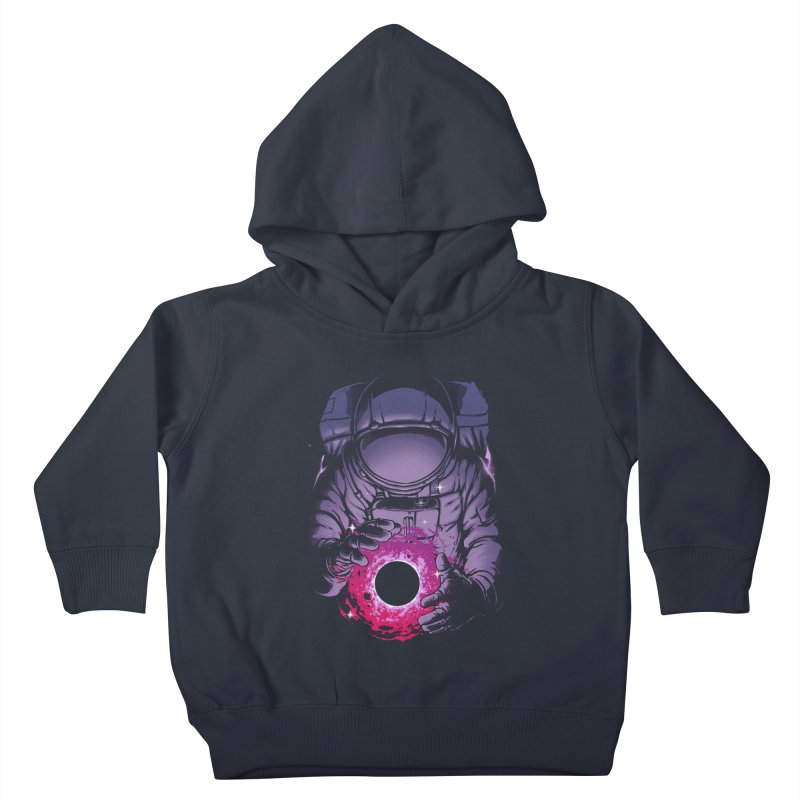 Deep Space Kids Toddler Pullover Hoody by digital carbine