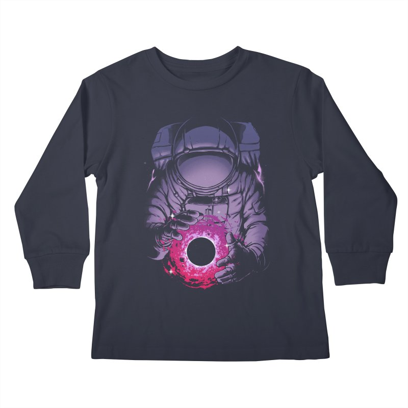Deep Space Kids Longsleeve T-Shirt by digital carbine