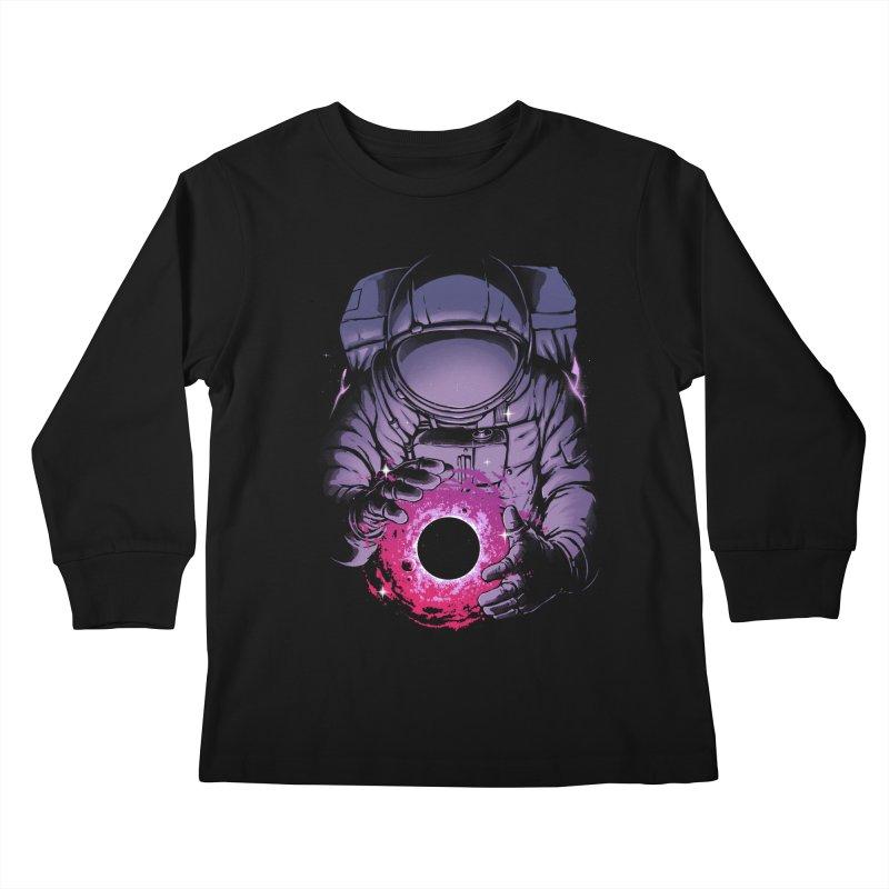 Deep Space Kids Longsleeve T-Shirt by digital carbine