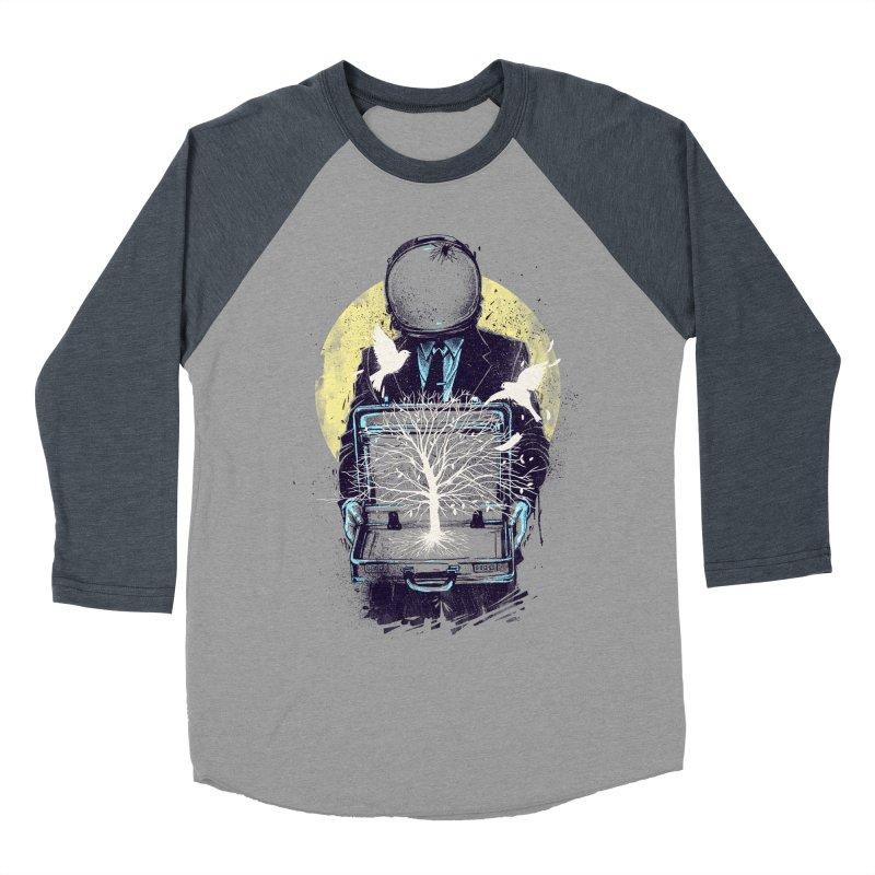A New Life Men's Baseball Triblend T-Shirt by digitalcarbine