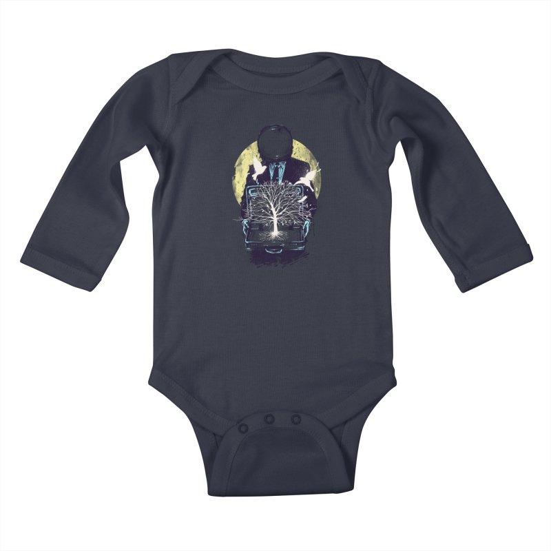 A New Life Kids Baby Longsleeve Bodysuit by digitalcarbine
