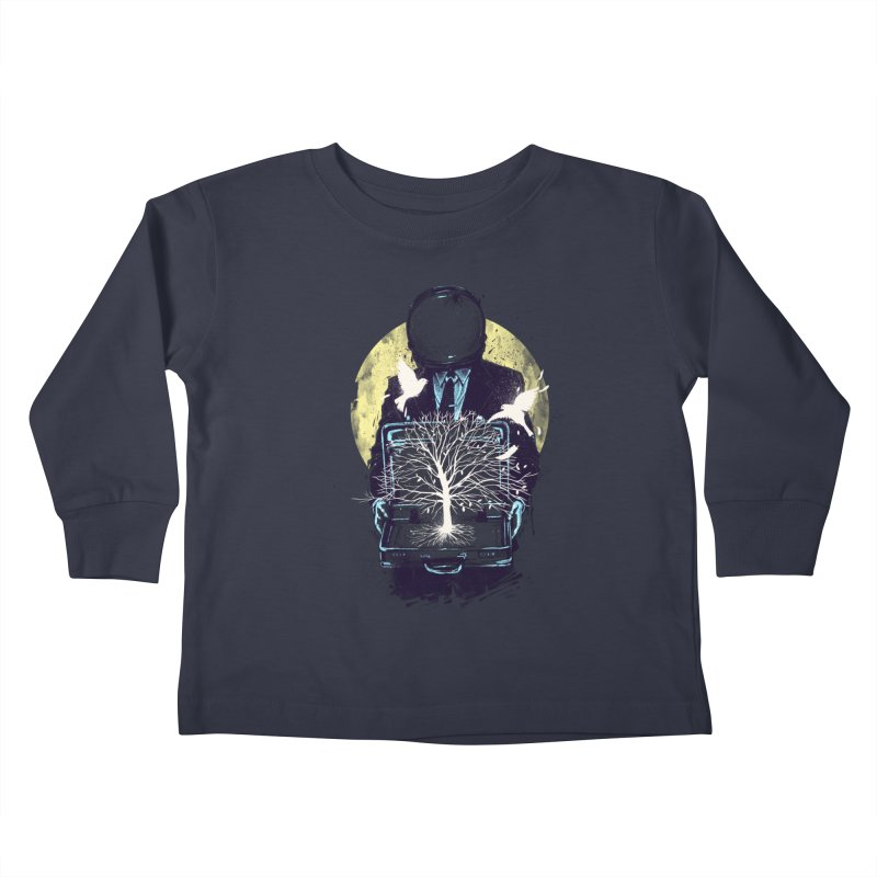 A New Life Kids Toddler Longsleeve T-Shirt by digitalcarbine