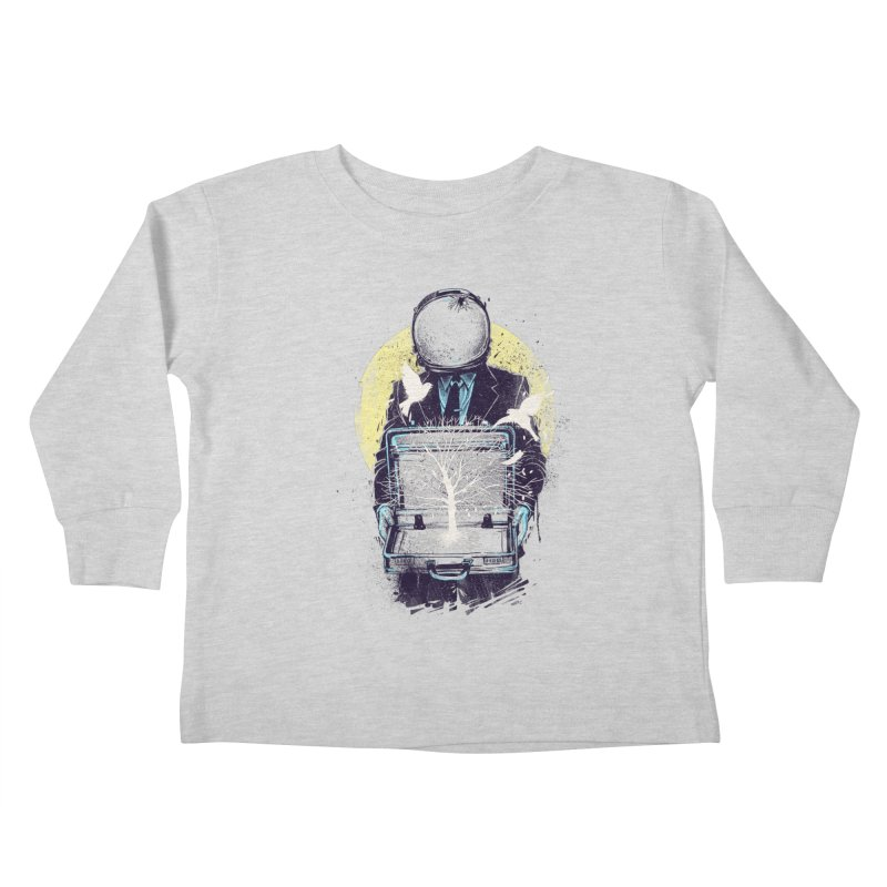 A New Life Kids Toddler Longsleeve T-Shirt by digital carbine