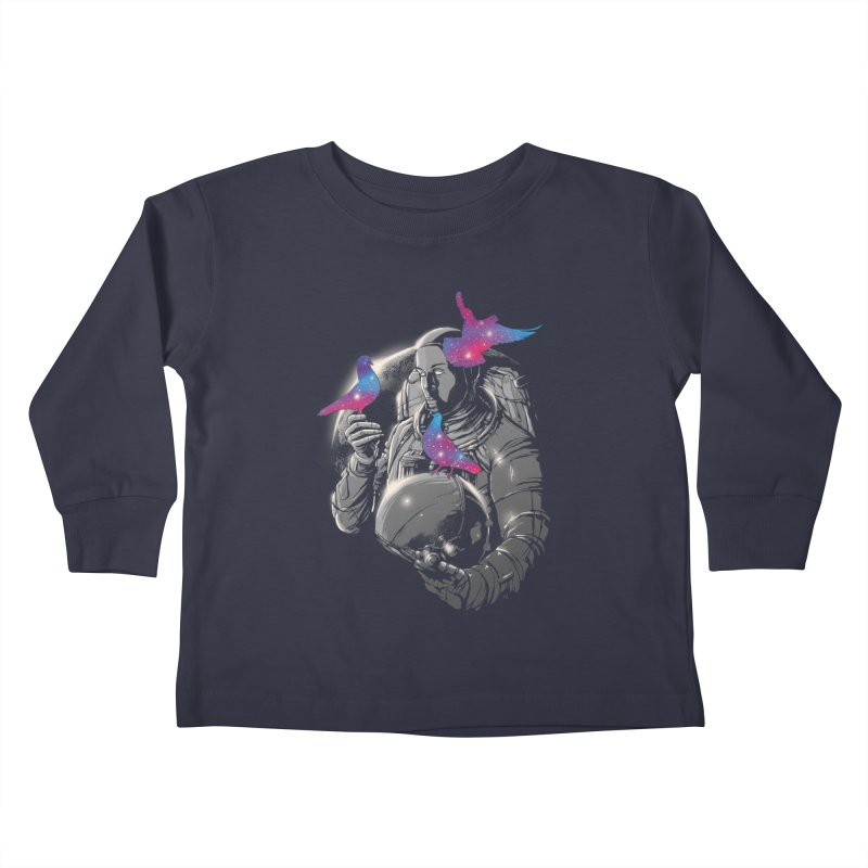 A Touch of Whimsy Kids Toddler Longsleeve T-Shirt by digital carbine