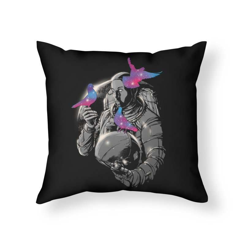 A Touch of Whimsy Home Throw Pillow by digital carbine