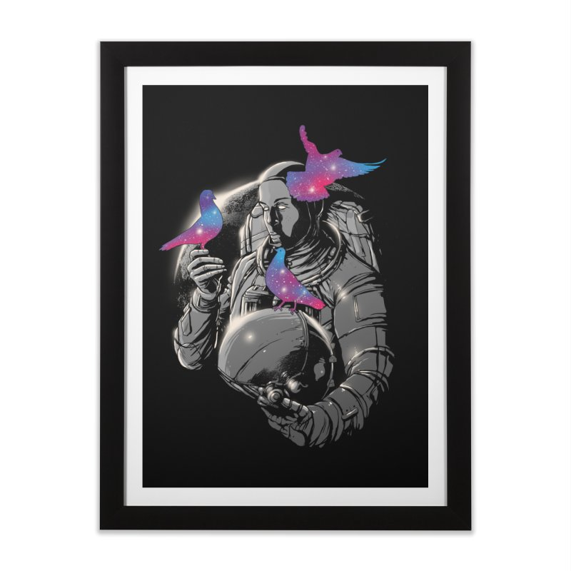 A Touch of Whimsy Home Framed Fine Art Print by digital carbine