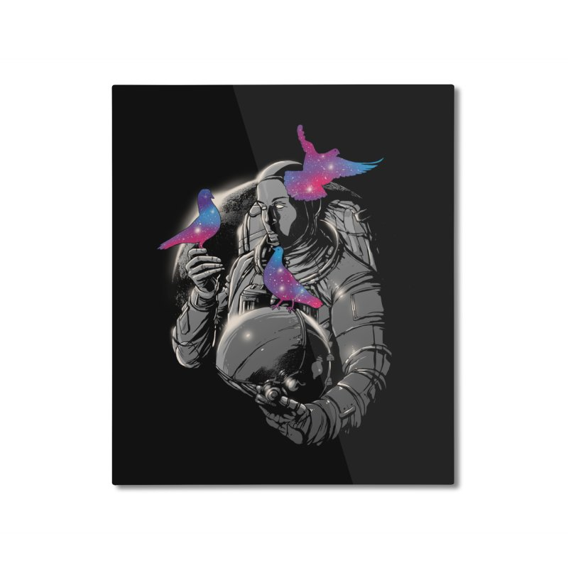 A Touch of Whimsy Home Mounted Aluminum Print by digital carbine