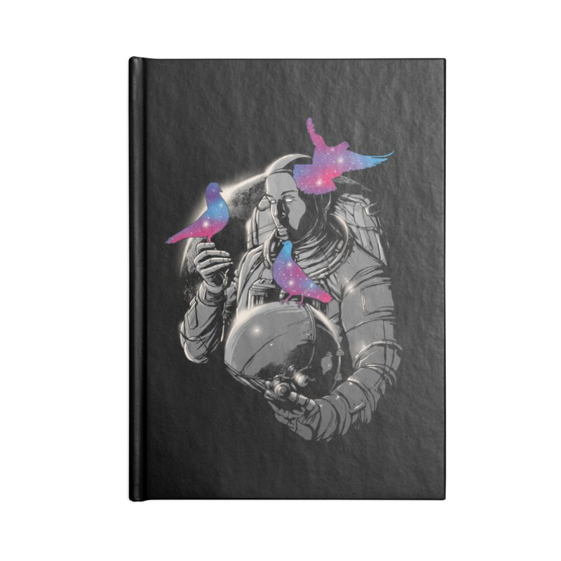 A Touch of Whimsy Accessories Blank Journal Notebook by digital carbine
