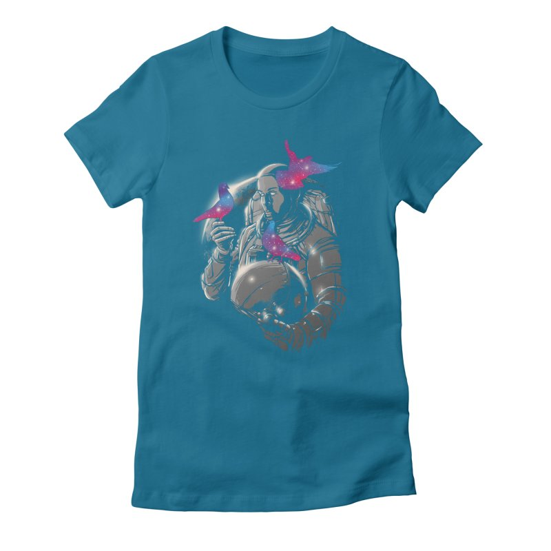 A Touch of Whimsy Women's Fitted T-Shirt by digitalcarbine