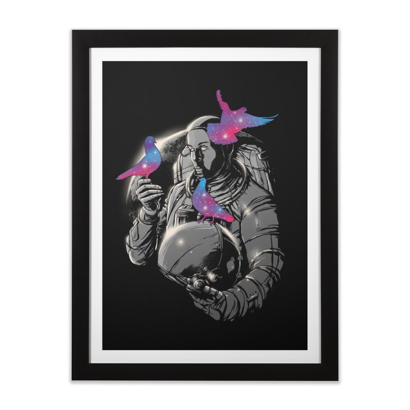A Touch of Whimsy Home Framed Fine Art Print by digitalcarbine
