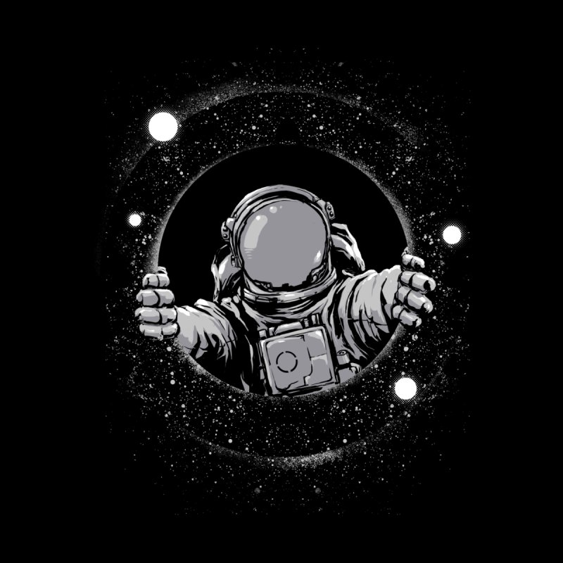 Black Hole Kids T-Shirt by digital carbine