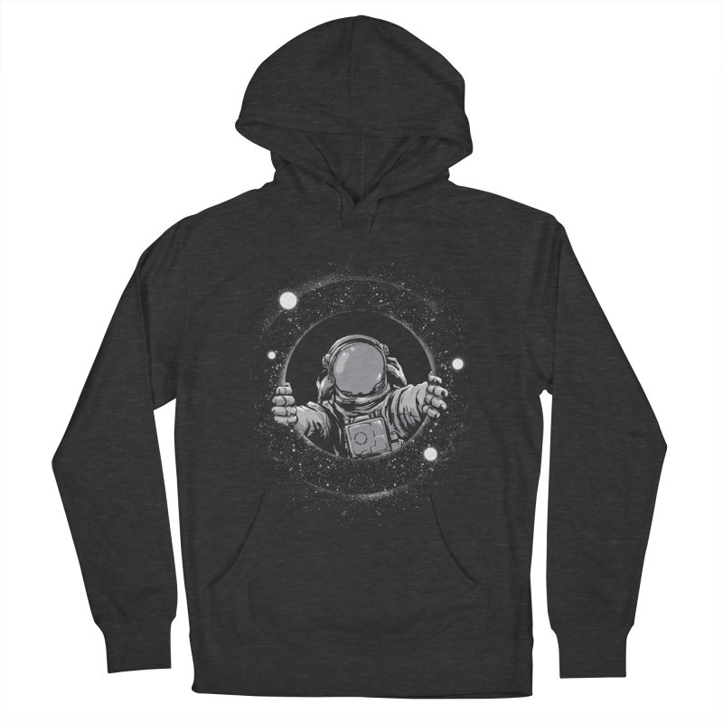 Black Hole Women's French Terry Pullover Hoody by digital carbine