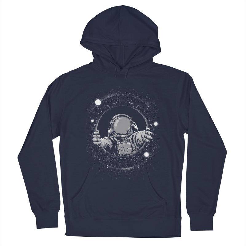 Black Hole Men's Pullover Hoody by digital carbine