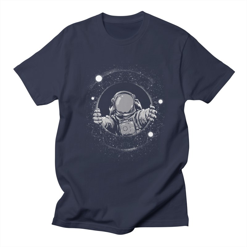 Black Hole Women's Regular Unisex T-Shirt by digital carbine