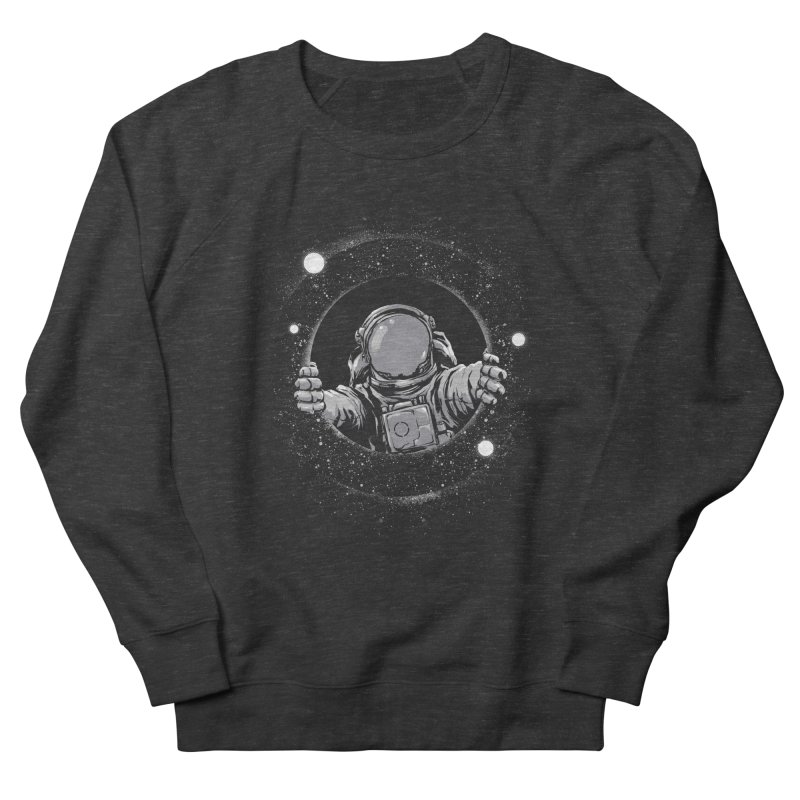 Black Hole Women's French Terry Sweatshirt by digital carbine