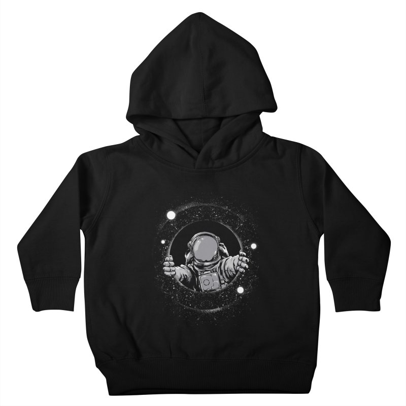 Black Hole Kids Toddler Pullover Hoody by digital carbine