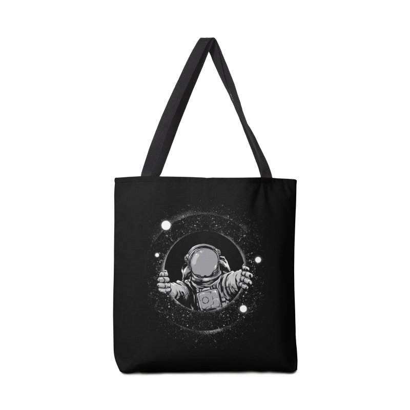 Black Hole Accessories Tote Bag Bag by digital carbine