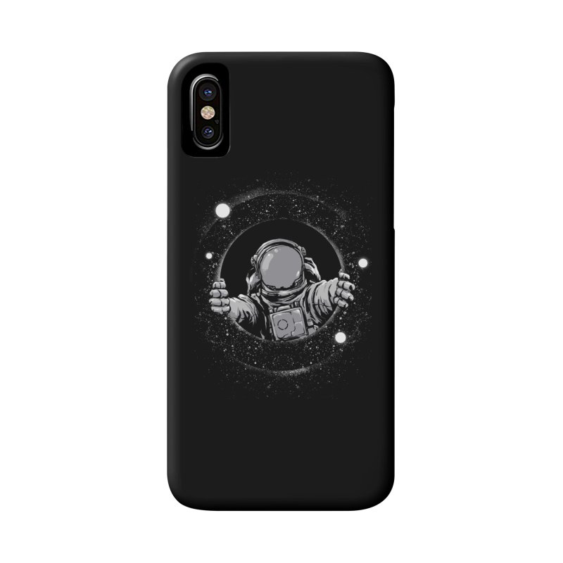 Black Hole Accessories Phone Case by digital carbine