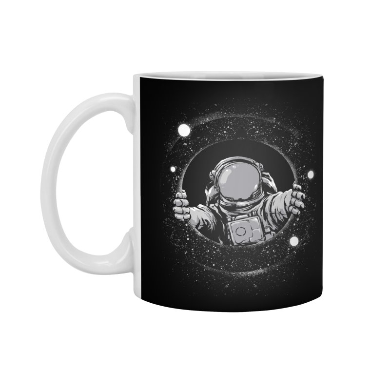 Black Hole Accessories Standard Mug by digital carbine