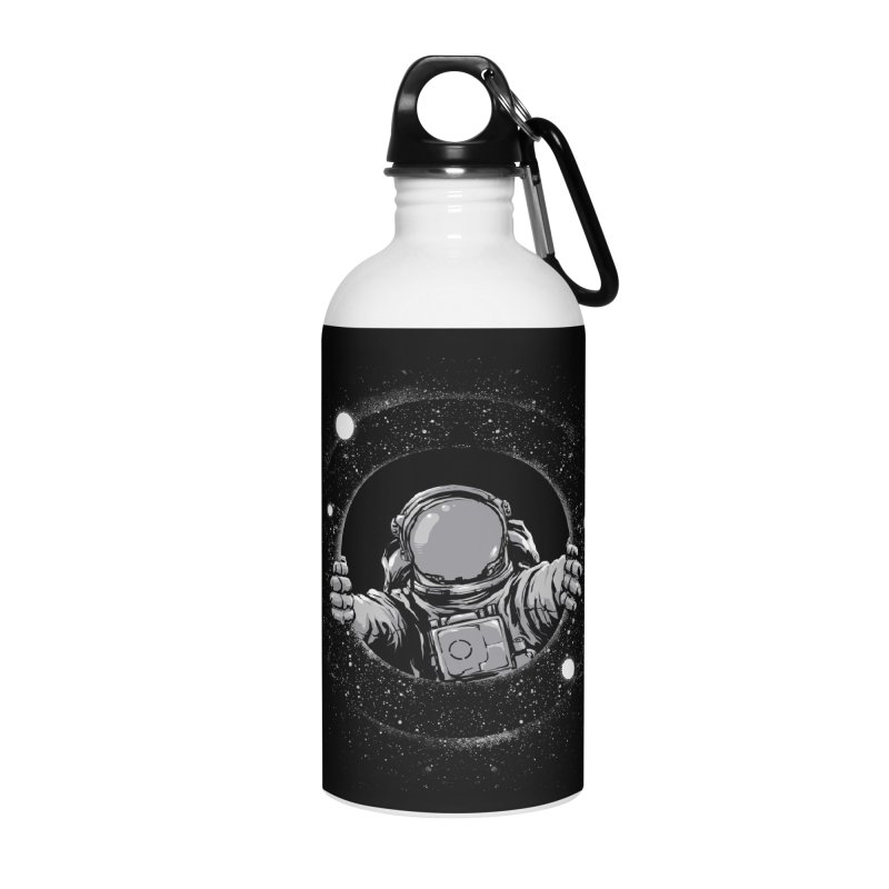 Black Hole Accessories Water Bottle by digital carbine