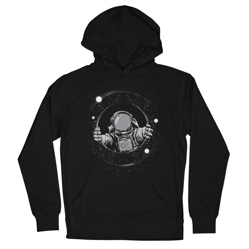 Black Hole Men's Pullover Hoody by digitalcarbine